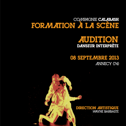 Formation à la scène - Audition