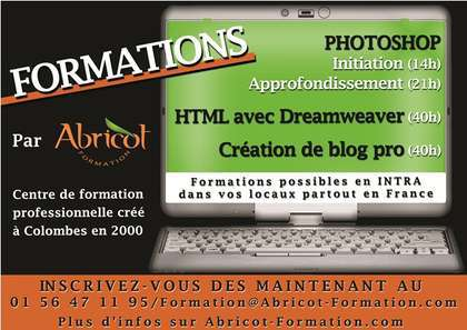 Stage Photoshop (Initiation 14h /  Approfondissement 21h) - DIF ou CIF pour l'artiste