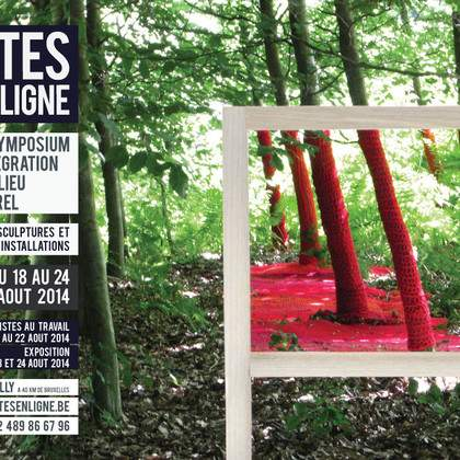 Sites en Ligne, Symposium de sculpture et installation en milieu naturel.