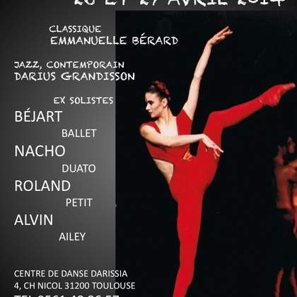STAGE DE DANSE 26 & 27 AVRIL 2014