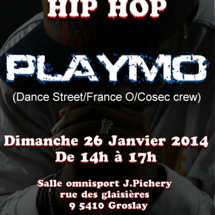 stage de danse hip hop avec playmo