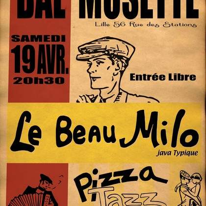 Bal Musette traditionnel avec Le Beau Milo Trio (musette roots)