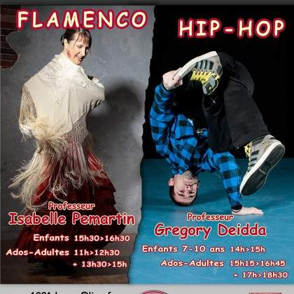 Stages de Flamenco et de Hip Hop - 30 juin