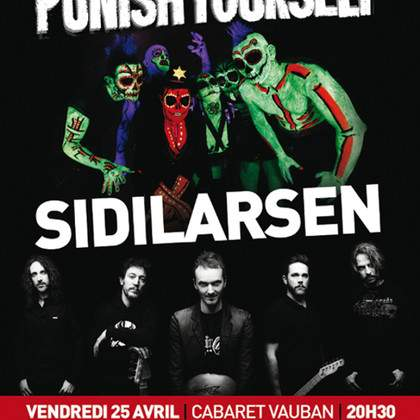 Sidilarsen + Punish Yourself en concert à Brest