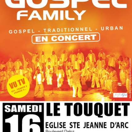 CONCERT NEW GOSPEL FAMILY AU TOUQUET