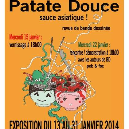 Patate douce : sauce asiatique