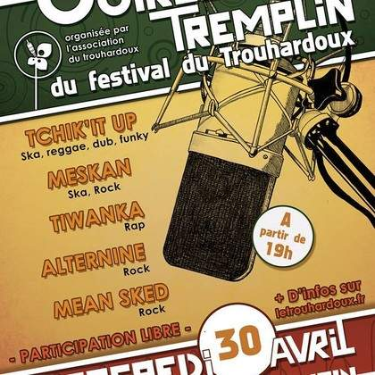 Tremplin du Trouhardoux