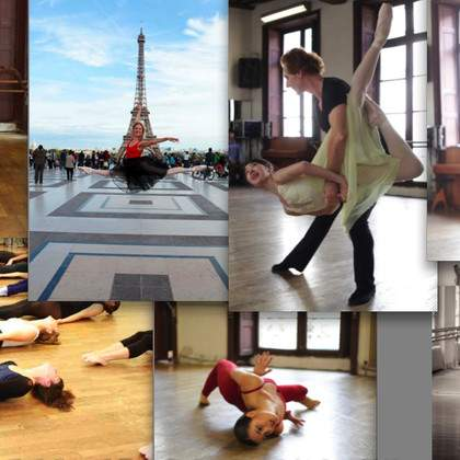 AUDITIONS rentrée 2014-2015 PARIS MARAIS DANCE SCHOOL Ballet & Contemporary - Graham / danse classique & contemporaine - Graham