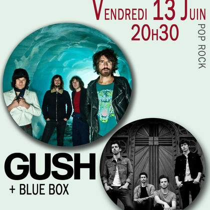Gush + Blue box