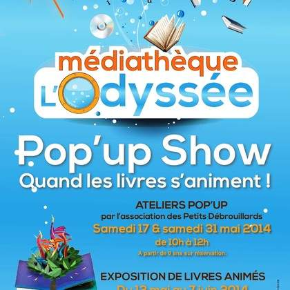 Pop'up Show: quand les livres s'animent !