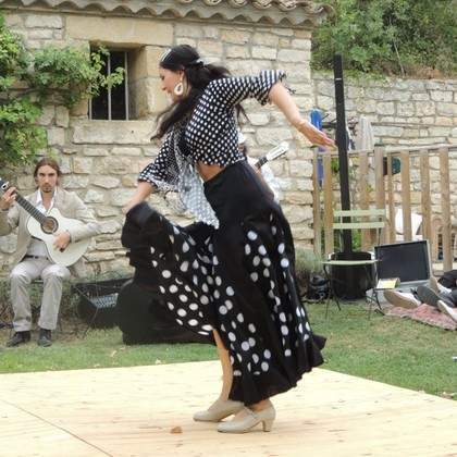Cours et stage de Flamenco / Rumba Flamenco / Sévillanes / Rumba Orientale