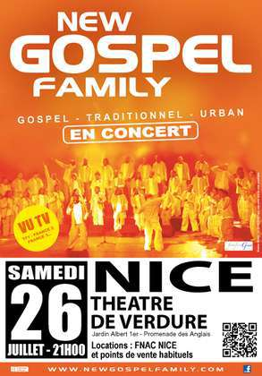 CONCERT NEW GOSPEL FAMILY A NICE